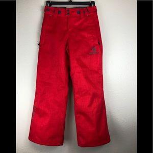 Scott red snowboard pants (kids)
